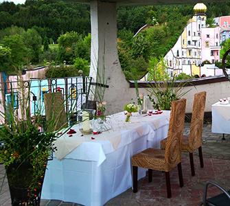 Hochzeit Rogner Bad Blumau Tisch