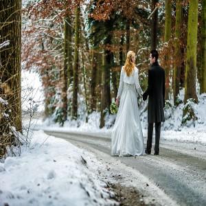 Hochzeit Schnee