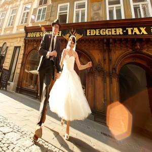 Hochzeit Straße